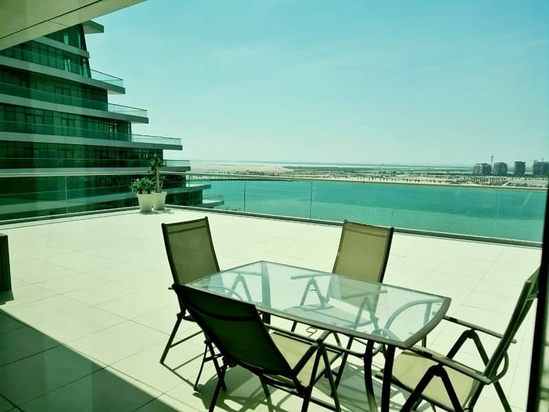 Full Sea View- Big Balcony-Ready To Move In