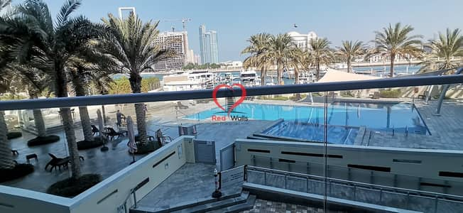 2 Bedroom Flat for Rent in Al Bateen, Abu Dhabi - Outclass 2 Bedroom Hall Apartment  With Amazing View with all facilities and parking