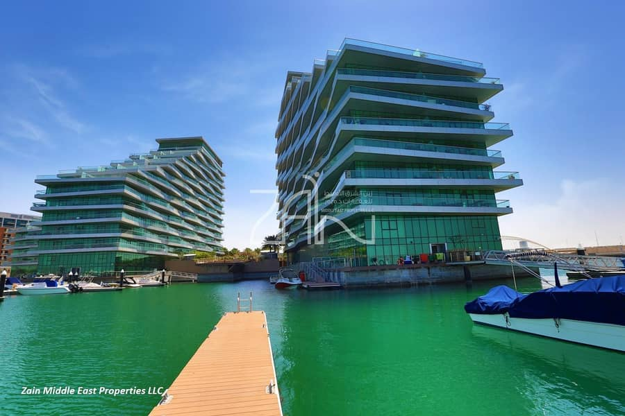 14 Sea View Spacious 3 BR Waterfront Apt with Balcony