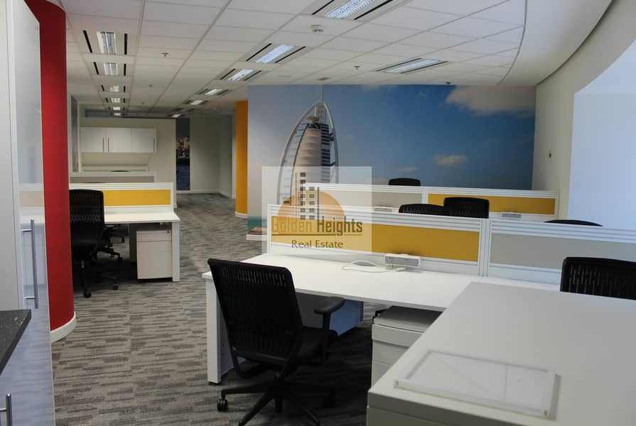 2 Spacious Furnished Office for Rent
