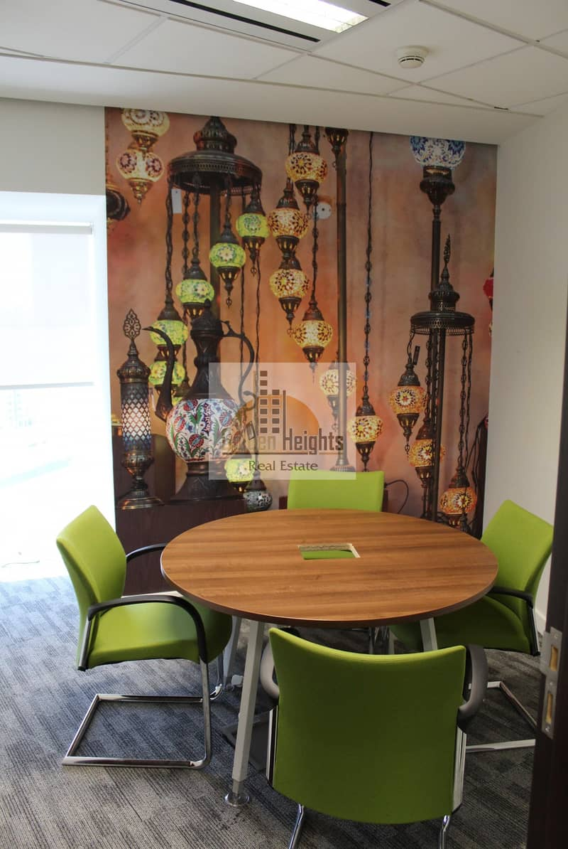 11 Spacious Furnished Office for Rent