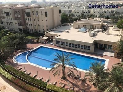شقة 3 غرف نوم للايجار في الفرجان، دبي - Pool View - Close Kitchen - Vacant - Unfurnished