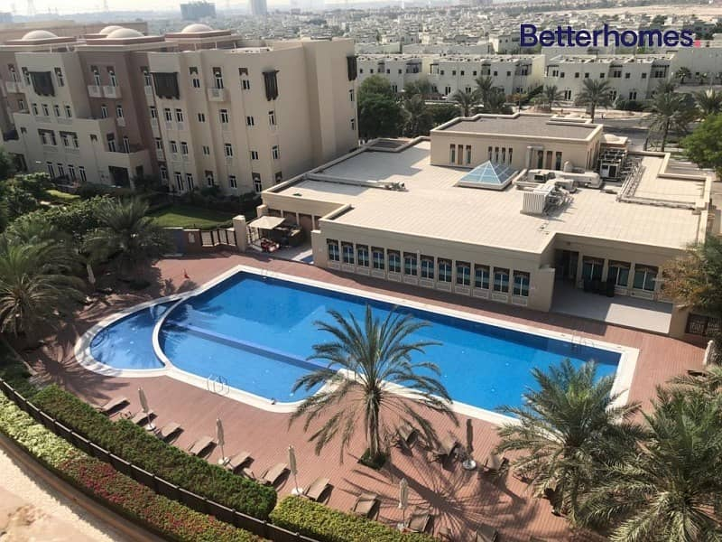 Pool View - Close Kitchen - Vacant - Unfurnished