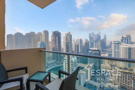 فلیٹ 1 غرفة نوم للبيع في دبي مارينا، دبي - Exclusive | Hotel Apartment | High Floor | Marina View