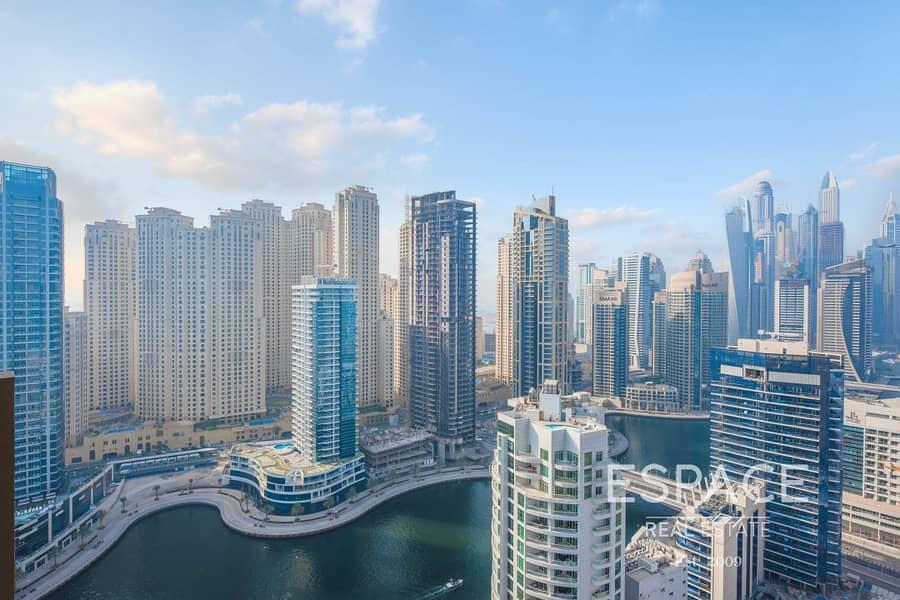 2 Exclusive   Hotel Apartment   High Floor   Marina View