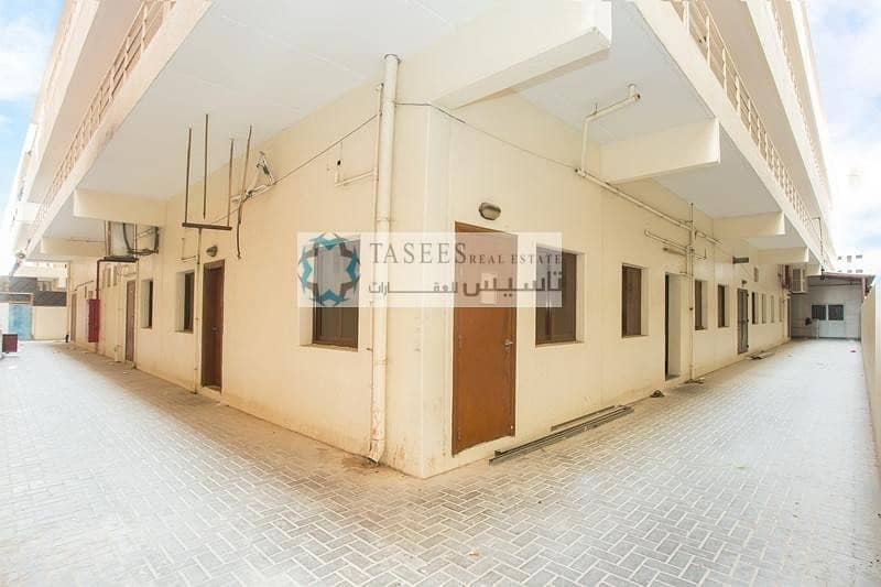 17 Labour Camp for Rent AED 750/month per room