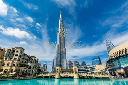فلیٹ 3 غرف نوم للايجار في وسط مدينة دبي، دبي - Huge 3BR+Study+Maids/R | No Pillar | Best Price!