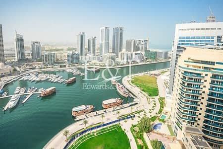 1 Bedroom Apartment for Sale in Dubai Marina, Dubai - Full Marina View | Open Kitchen Layout | Below OP