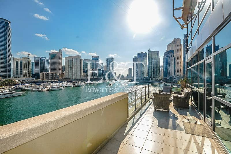 16 Triplex Villa | Full Marina View | Rare Unit