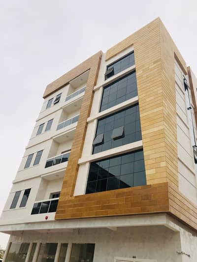 For rent One bedrooms, hall  with balcony in Al Hamidiyah, super lux finishing and large areas