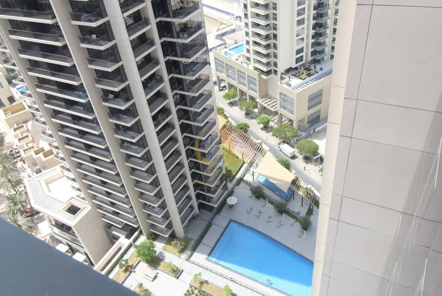 16 Boulevard Crescent Partial  Burj View Down 3BR + M For Rent