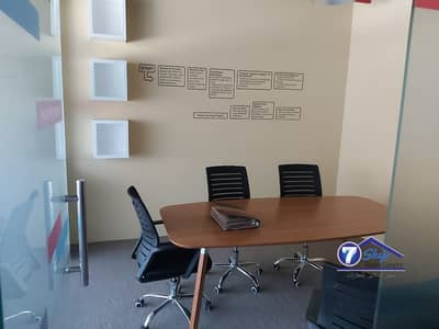 Office for Rent in Dubai Silicon Oasis, Dubai - Fully Fitted Furnished office+ partitions for rent
