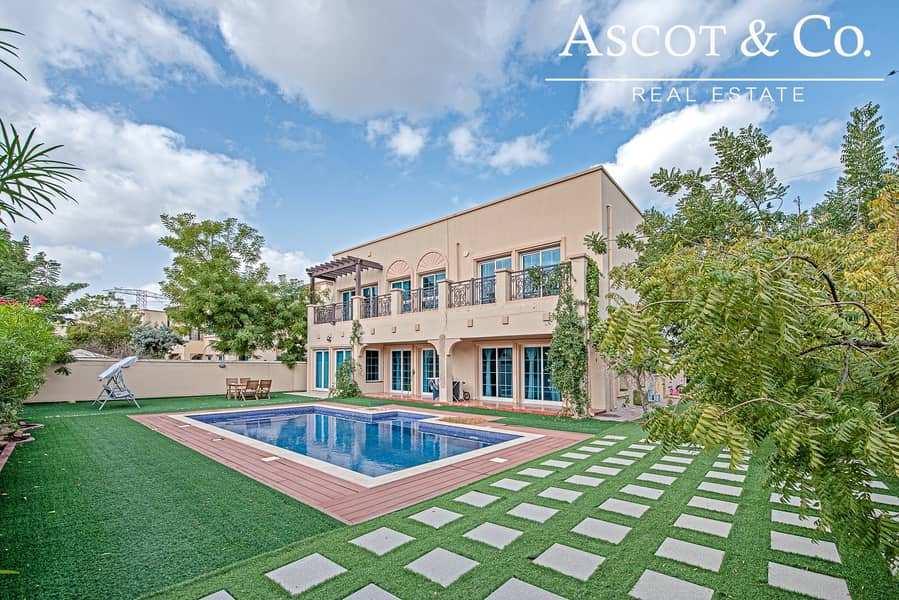 5 Bedrooms + Maid's | Private Pool | JVT