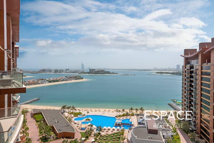 High Floor - Sea and Burj Al Arab Views - Vacant