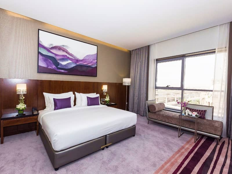 4 Star Hotel next to MOE | Furnished Classic Room | Flora Al Barsha | FREE Dewa, WiFi and Parking