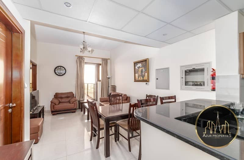 Furnished 1 BR | Good  View | High Floor