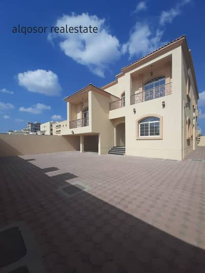 6 Bedroom Villa for Sale in Al Mowaihat, Ajman - Villa for sale in Ajman, Al Mowaihat area, second piece of Sheikh Ammar Street, directly at a snapshot price, with the possibility of bank financing