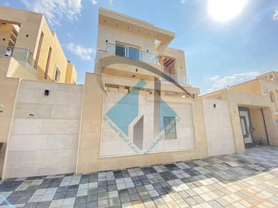 5 Bedroom Villa for Sale in Al Mowaihat, Ajman - New Modern villa with big building area nearby shk. Md Bin zayed Road.