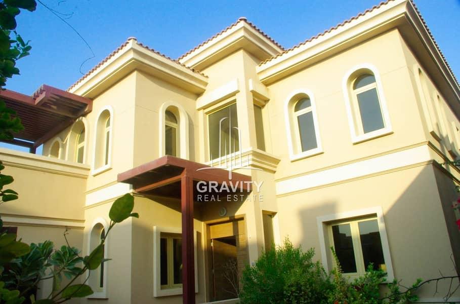 Dazzling 4BR Villa in Al Raha Gardens  Inquire Now