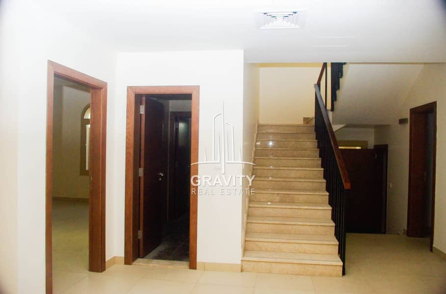 2 Dazzling 4BR Villa in Al Raha Gardens  Inquire Now