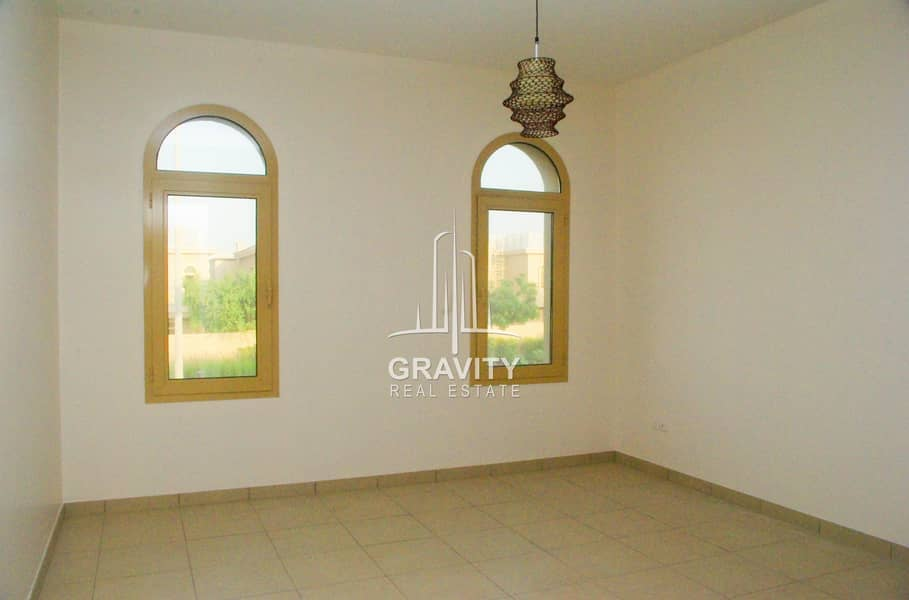 16 Dazzling 4BR Villa in Al Raha Gardens  Inquire Now