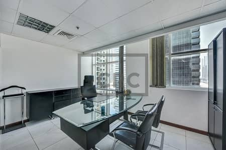 Office for Rent in Jumeirah Lake Towers (JLT), Dubai - Furnished | Partitioned | Office | In JLT