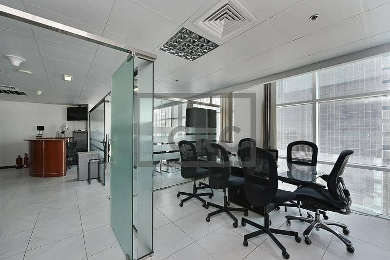 2 Furnished   Partitioned   Office   In JLT