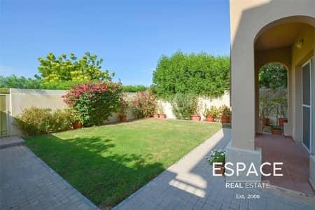 فیلا 2 غرفة نوم للايجار في الينابيع، دبي - Single Row | Type 4E | Landscaped Garden
