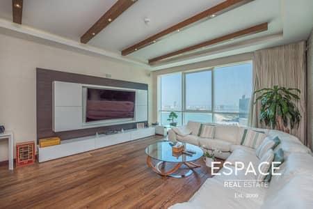 شقة 3 غرف نوم للايجار في جميرا بيتش ريزيدنس، دبي - Premium Furniture | Rare High-End Upgrades