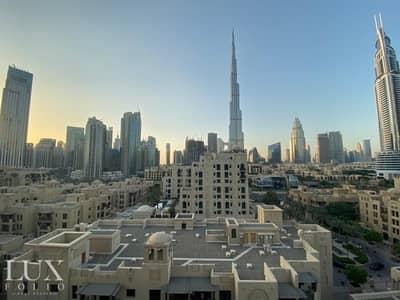 3 Bedroom Penthouse for Rent in Old Town, Dubai - Penthouse | Burj Khalifa Views | Huge Terrace
