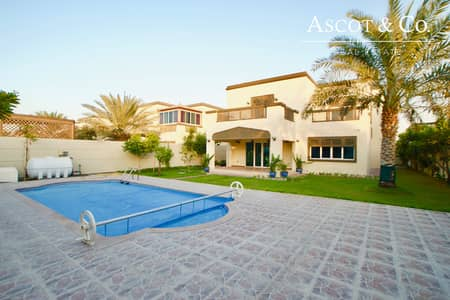 4 Bedroom Villa for Sale in Jumeirah Park, Dubai - 4 Bed +M Regional | 1 Downstairs Bedroom