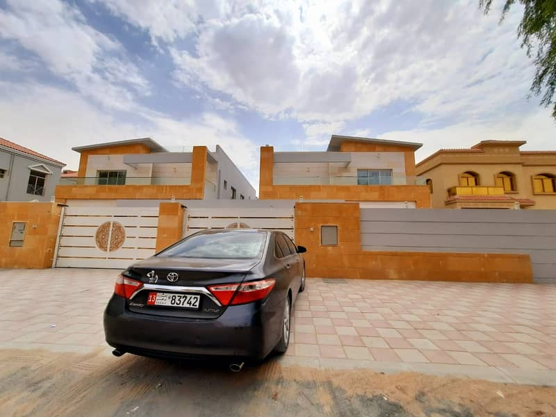 BEST OFFER BRAND NEW VILLA  5 BARROOM FOR RENT (MOWAIHAT-3) 95,000/- AED YEARLY