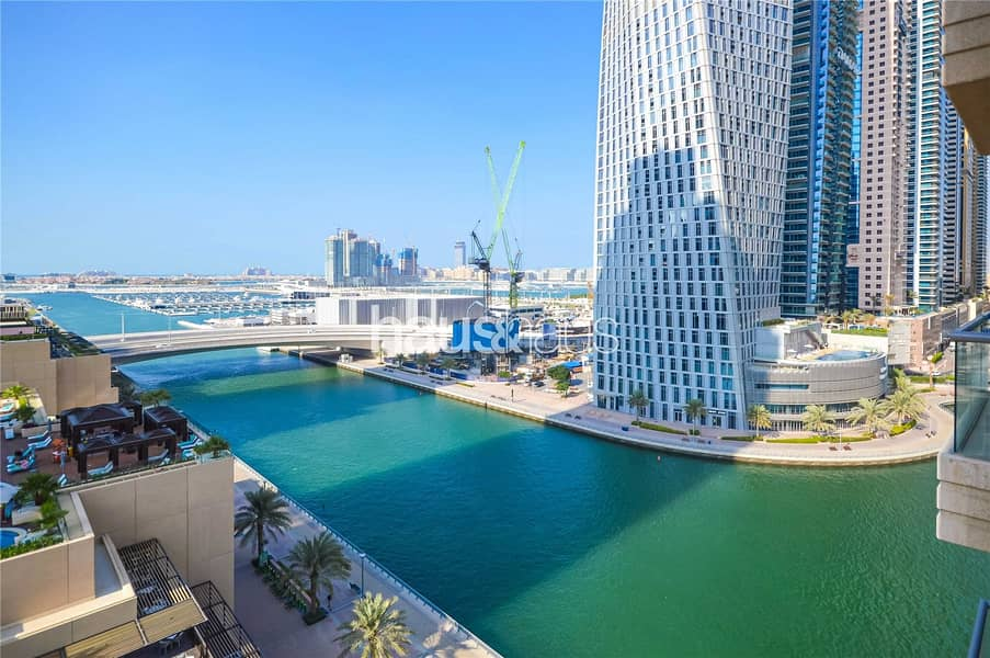 Marina View | Beautifully Furnished | 2 Balconies
