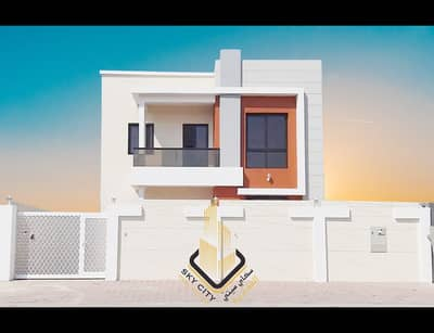 5 Bedroom Villa for Sale in Al Yasmeen, Ajman - New villa first inhabitant in an excellent location at an attractive price