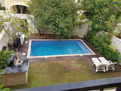 4 Bedroom Villa for Sale in Saadiyat Island, Abu Dhabi - Charming  4BR+M Villa with Private Swimming Pool