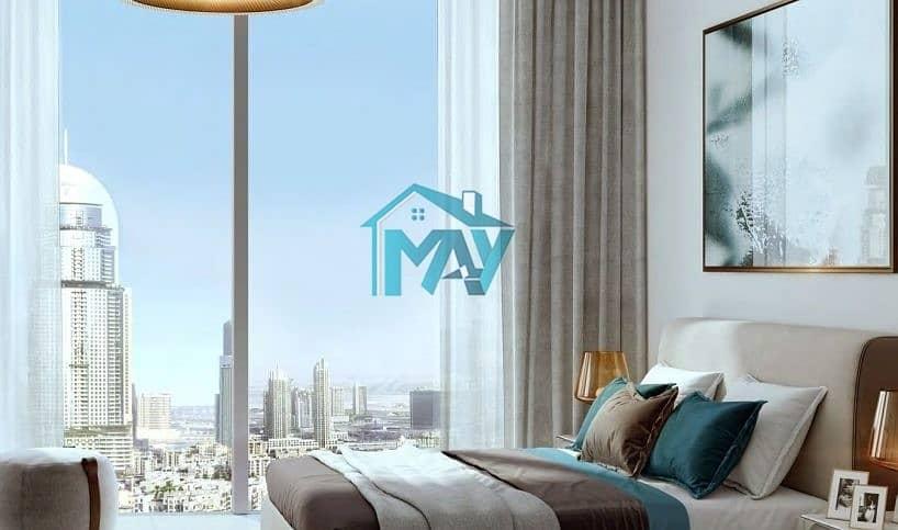 2BR | 50% Post Handover 3 YRS | 100% DLD Waiver Burj Khalifa View