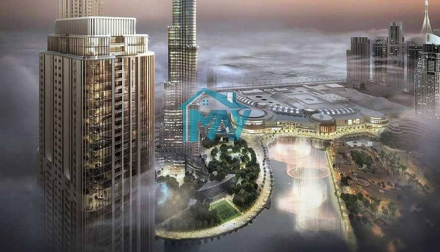 2 2BR | 50% Post Handover 3 YRS | 100% DLD Waiver Burj Khalifa View