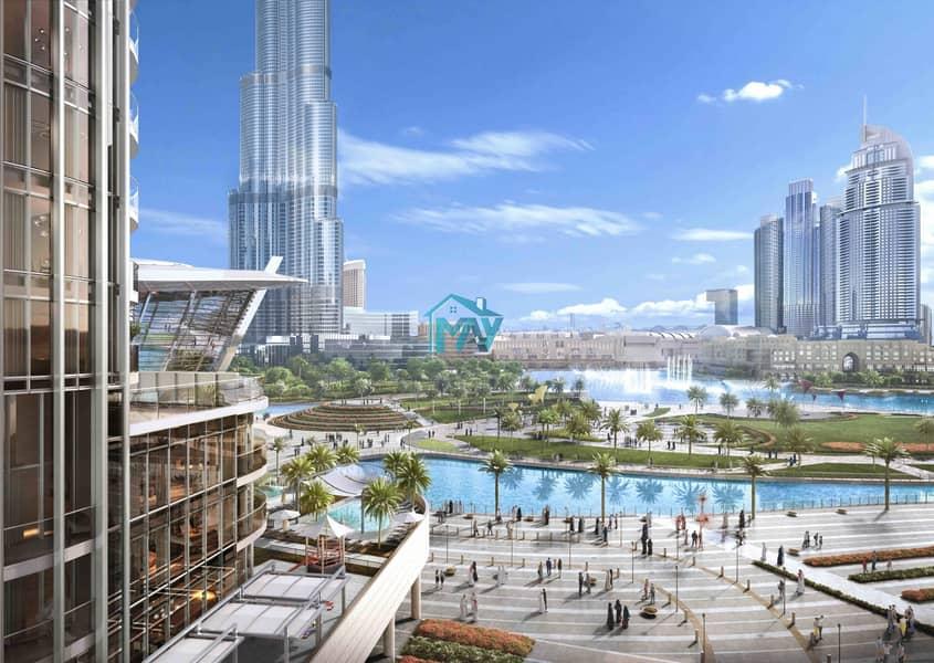 17 2BR | 50% Post Handover 3 YRS | 100% DLD Waiver Burj Khalifa View
