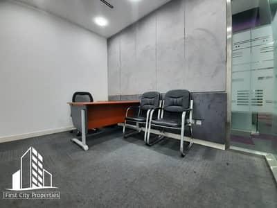 مکتب  للايجار في الخالدية، أبوظبي - Spectacular Fitted Offices in  Khalidiyah Street