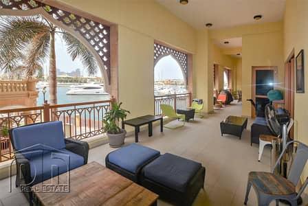3 Bedroom Flat for Sale in Palm Jumeirah, Dubai - Atlantis & Marina View   Extra Parking   Tenanted
