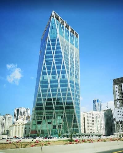 Office for Rent in Al Taawun, Sharjah - 2900 Sq ft, Fully Fitted & Furnished Premium Office in City Gate Tower