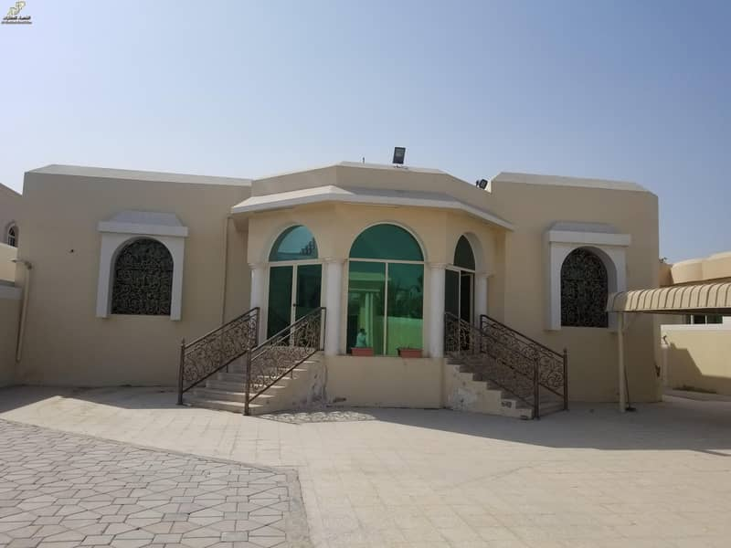 2 Luxury villa of 8000 feet and 4 rooms AND HALL&MAJLIS for rent