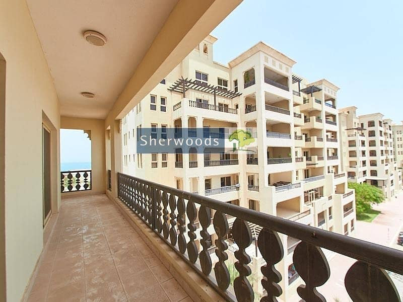 2 Large Balcony - 3 Bedroom plus Maids Room- Corner Unit