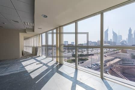 مکتب  للايجار في شارع الشيخ زايد، دبي - Sheikh Zayed Road|Close to Metro|2 Month Free