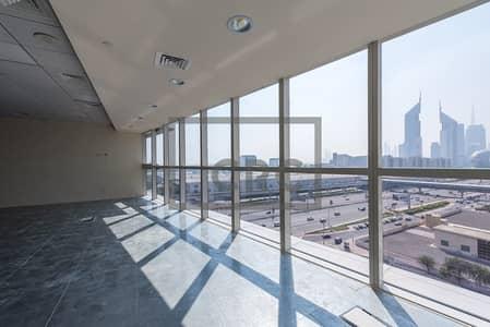 مکتب  للايجار في شارع الشيخ زايد، دبي - Close to Metro|2 Month FREE|Sheikh Zayed Road