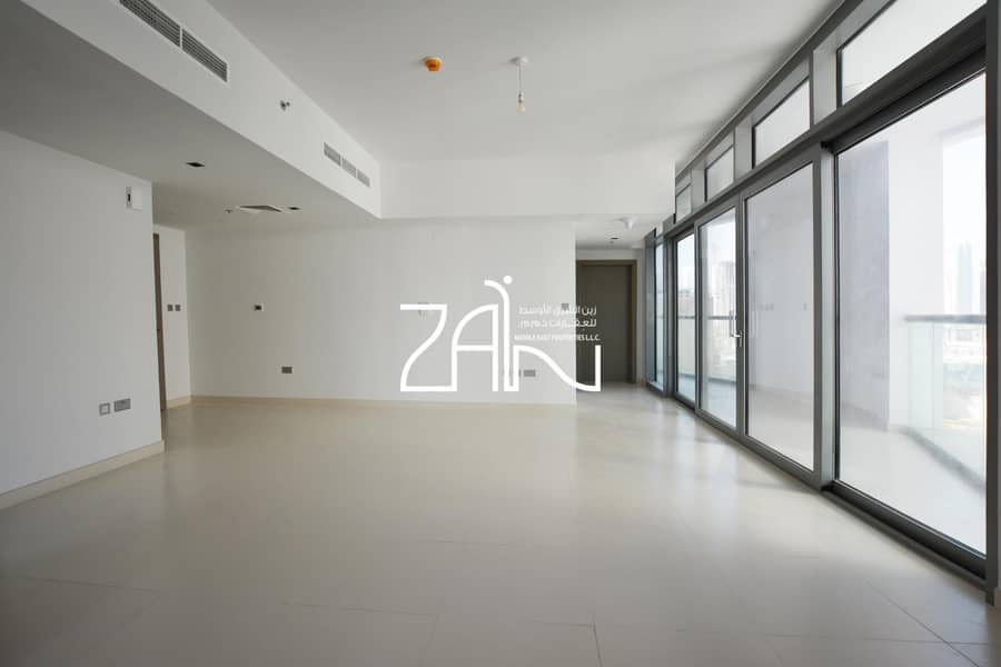 2 Superb 2 BR Apt with Balcony Reem Park View For Rent