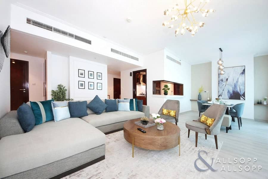 2 Fully Upgraded | Emaar | 2 Bed | Delphine