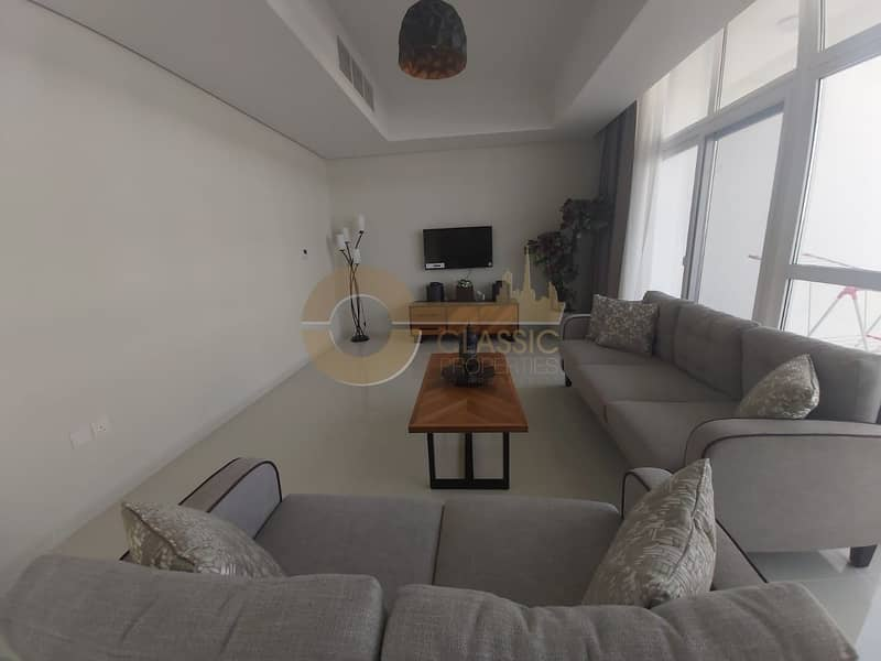 Fully Furnished  Brand New 3bed  Maids+ Store Room