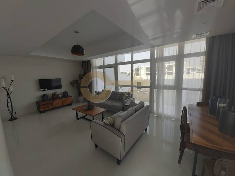 2 Fully Furnished  Brand New 3bed  Maids+ Store Room