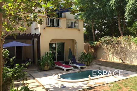 3 Bedroom Villa for Rent in The Springs, Dubai - Furnished - Springs 11 - Type 2E